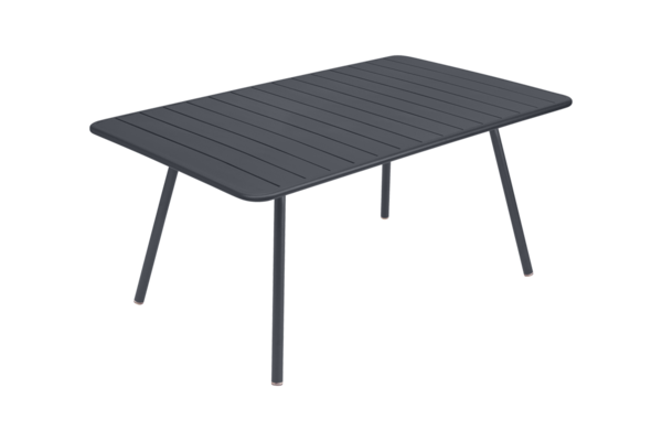 Luxembourg tafel 1.65  x 1 m. Carbon